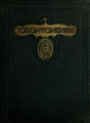 Page 1, 1926 Edition, University of Toronto - Torontonensis Yearbook (Toronto, Ontario Canada) online yearbook collection