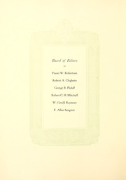 Page 12, 1926 Edition, University of Toronto - Torontonensis Yearbook (Toronto, Ontario Canada) online yearbook collection