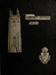 Page 1, 1932 Edition, University of Toronto - Torontonensis Yearbook (Toronto, Ontario Canada) online yearbook collection