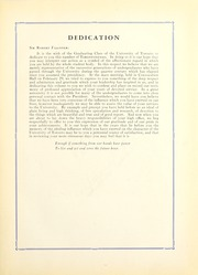 Page 11, 1932 Edition, University of Toronto - Torontonensis Yearbook (Toronto, Ontario Canada) online yearbook collection