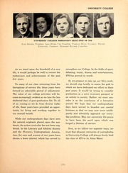 Page 13, 1948 Edition, University of Toronto - Torontonensis Yearbook (Toronto, Ontario Canada) online yearbook collection