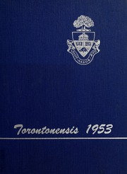 University of Toronto - Torontonensis Yearbook (Toronto, Ontario Canada) online yearbook collection, 1953 Edition, Page 1