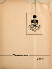Page 5, 1953 Edition, University of Toronto - Torontonensis Yearbook (Toronto, Ontario Canada) online yearbook collection