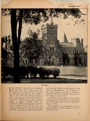 Page 7, 1953 Edition, University of Toronto - Torontonensis Yearbook (Toronto, Ontario Canada) online yearbook collection
