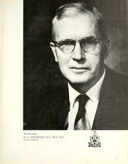 Page 7, 1957 Edition, University of Saskatchewan - Greystone Yearbook (Saskatoon, Saskatchewan Canada) online yearbook collection