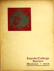 Page 1, 1943 Edition, Loyola College - Review Yearbook (Montreal, Quebec Canada) online yearbook collection