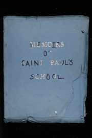 1945 Edition, Saint Pauls School - Memoirs Yearbook (Havre Boucher, Nova Scotia Canada)