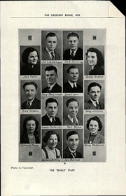 Page 13, 1939 Edition, Crescent Heights High School - Bugle Yearbook (Calgary, Alberta Canada) online yearbook collection