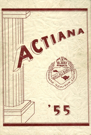 1955 Edition, Wallaceburg District Secondary School - Actiana Yearbook (Wallaceburg, Ontario Canada)