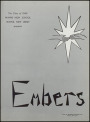 Page 5, 1960 Edition, Wayne Valley High School - Embers Yearbook (Wayne, NJ) online yearbook collection