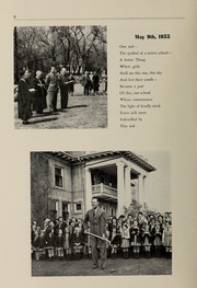 Page 8, 1955 Edition, Balmoral Hall School - Optima Anni Yearbook (Winnipeg, Manitoba Canada) online yearbook collection