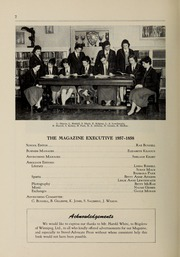 Page 4, 1958 Edition, Balmoral Hall School - Optima Anni Yearbook (Winnipeg, Manitoba Canada) online yearbook collection