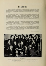 Page 8, 1960 Edition, Balmoral Hall School - Optima Anni Yearbook (Winnipeg, Manitoba Canada) online yearbook collection