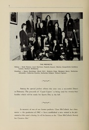 Page 8, 1965 Edition, Balmoral Hall School - Optima Anni Yearbook (Winnipeg, Manitoba Canada) online yearbook collection