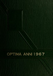 Page 1, 1967 Edition, Balmoral Hall School - Optima Anni Yearbook (Winnipeg, Manitoba Canada) online yearbook collection