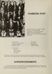 Page 6, 1969 Edition, Balmoral Hall School - Optima Anni Yearbook (Winnipeg, Manitoba Canada) online yearbook collection