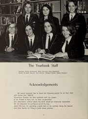 Page 10, 1970 Edition, Balmoral Hall School - Optima Anni Yearbook (Winnipeg, Manitoba Canada) online yearbook collection