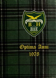 Page 1, 1978 Edition, Balmoral Hall School - Optima Anni Yearbook (Winnipeg, Manitoba Canada) online yearbook collection
