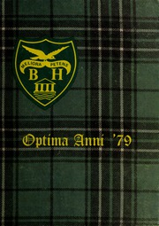 Balmoral Hall School - Optima Anni Yearbook (Winnipeg, Manitoba Canada) online yearbook collection, 1979 Edition, Page 1