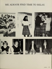 Page 17, 1984 Edition, Balmoral Hall School - Optima Anni Yearbook (Winnipeg, Manitoba Canada) online yearbook collection