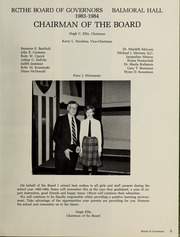 Page 9, 1984 Edition, Balmoral Hall School - Optima Anni Yearbook (Winnipeg, Manitoba Canada) online yearbook collection