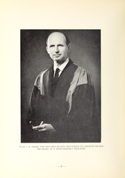 Page 10, 1952 Edition, Carleton University - Yearbook (Ottawa, Ontario Canada) online yearbook collection