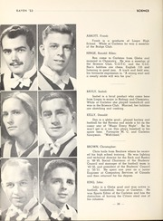 Page 40, 1953 Edition, Carleton University - Yearbook (Ottawa, Ontario Canada) online yearbook collection
