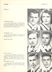 Page 41, 1953 Edition, Carleton University - Yearbook (Ottawa, Ontario Canada) online yearbook collection