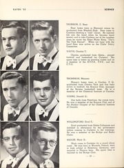 Page 42, 1953 Edition, Carleton University - Yearbook (Ottawa, Ontario Canada) online yearbook collection