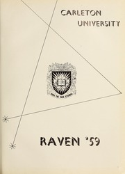 Page 5, 1959 Edition, Carleton University - Yearbook (Ottawa, Ontario Canada) online yearbook collection