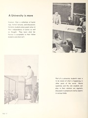 Page 16, 1962 Edition, Carleton University - Yearbook (Ottawa, Ontario Canada) online yearbook collection