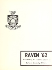 Page 5, 1962 Edition, Carleton University - Yearbook (Ottawa, Ontario Canada) online yearbook collection