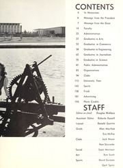Page 7, 1962 Edition, Carleton University - Yearbook (Ottawa, Ontario Canada) online yearbook collection