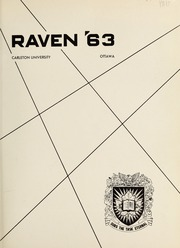 Page 5, 1963 Edition, Carleton University - Yearbook (Ottawa, Ontario Canada) online yearbook collection
