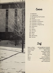 Page 7, 1963 Edition, Carleton University - Yearbook (Ottawa, Ontario Canada) online yearbook collection