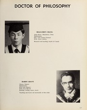 Page 21, 1965 Edition, Carleton University - Yearbook (Ottawa, Ontario Canada) online yearbook collection