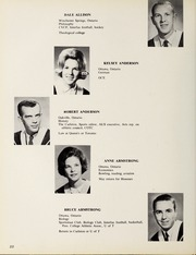 Page 26, 1965 Edition, Carleton University - Yearbook (Ottawa, Ontario Canada) online yearbook collection