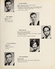 Page 35, 1965 Edition, Carleton University - Yearbook (Ottawa, Ontario Canada) online yearbook collection