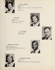 Page 55, 1965 Edition, Carleton University - Yearbook (Ottawa, Ontario Canada) online yearbook collection