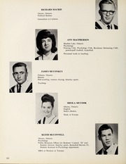 Page 56, 1965 Edition, Carleton University - Yearbook (Ottawa, Ontario Canada) online yearbook collection