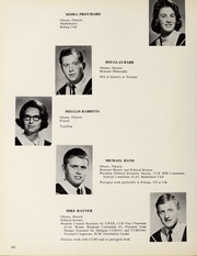 Page 66, 1965 Edition, Carleton University - Yearbook (Ottawa, Ontario Canada) online yearbook collection