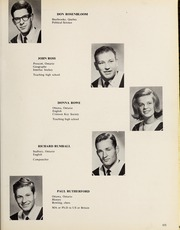 Page 69, 1965 Edition, Carleton University - Yearbook (Ottawa, Ontario Canada) online yearbook collection