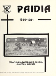 Page 5, 1981 Edition, Strathcona Tweedsmuir School - Paidia Yearbook (Okotoks, Alberta Canada) online yearbook collection