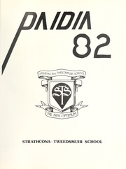 Page 5, 1982 Edition, Strathcona Tweedsmuir School - Paidia Yearbook (Okotoks, Alberta Canada) online yearbook collection