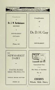 Page 11, 1932 Edition, Pickering College - Voyageur Yearbook (Newmarket, Ontario Canada) online yearbook collection
