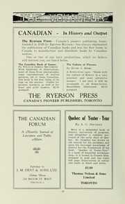 Page 12, 1932 Edition, Pickering College - Voyageur Yearbook (Newmarket, Ontario Canada) online yearbook collection