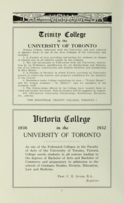 Page 4, 1932 Edition, Pickering College - Voyageur Yearbook (Newmarket, Ontario Canada) online yearbook collection
