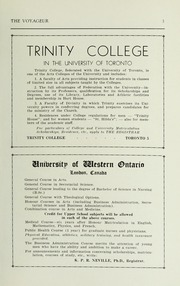 Page 5, 1936 Edition, Pickering College - Voyageur Yearbook (Newmarket, Ontario Canada) online yearbook collection