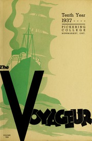 Pickering College - Voyageur Yearbook (Newmarket, Ontario Canada) online yearbook collection, 1937 Edition, Page 1