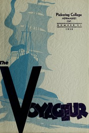 Page 1, 1938 Edition, Pickering College - Voyageur Yearbook (Newmarket, Ontario Canada) online yearbook collection